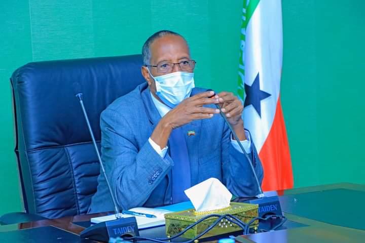 Madaxweynaha Somaliland Muuse Biixi Cabdi 2021