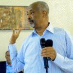 Wasiirka Arrimaha Gudaha Somaliland Maxamed Kaahin Axmed